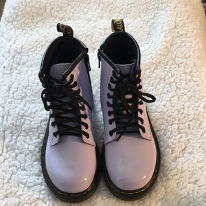 Air Wair Dr Martens lavender Delaney boot Sz12